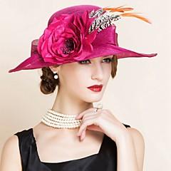 Women's Flax Headpiece-Wedding / Special Occasion Hats 1 Piece