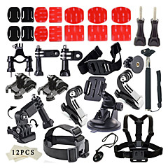 Accessories For GoPro,Anti-Fog Insert Protective Case Monopod Tripod Case/Bags Screw Buoy Suction Cup Straps Hand Grips/Finger Grooves