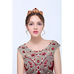 Women's Baroque Gold / Alloy Headpiece - Wedding / Special Occasion / Casual Tiaras 1 Piece