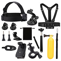 Accessories For GoPro,Protective Case Monopod Tripod Case/Bags Screw Buoy Suction Cup Straps Clip Hand Grips/Finger Grooves Mount/Holder