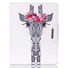 Deer Head Pattern PU Leather Full Body Case With Stand for iPad 4/iPad 3/iPad 2