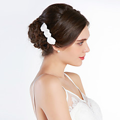 Women's Silk Headpiece-Wedding / Special Occasion Hair Combs
