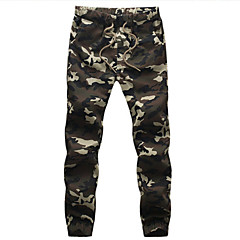 Men's Fashion Camouflage Casual Sport Military Slim Fit Pants