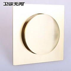 weiyuwuxian® gouden massief messing anti-geur duw pop-up afvoerputje 4inch