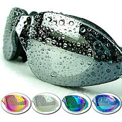 Made In China Óculos de Natação Mulheres / Homens / Unisexo Anti-Nevoeiro / Á Prova-de-Água / Tamanho Ajustável / Proteção UV Plástico