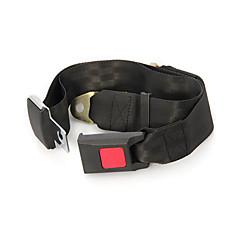 noire universelle ceinture abdominale réglable camion de voiture de sécurité à deux points