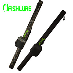 AFISHLURE® 2015 New Arrival Fishing Rod Tube Fising Bag with Reel Bag Lure Rod Tubes 1.2M Black/Camouflage 120cmx7cmx7cm