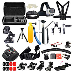 Gopro Accessory kit Bundle Kit for Gopro Hero 5 Gopro Hero 4 Gopro 3+ 3 2 1 for Outdoor Sports