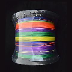 1000m anmnka marca colorido 8stand super forte japão multifilamento pe linha de pesca trançada 8 ~ £ 80