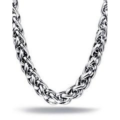Herre Kjedehalskjeder Halskjede Rustfritt Stål Smykker Unikt design Mote Sølv 3# 4# 5# 6# Smykker Julegaver 1 stk