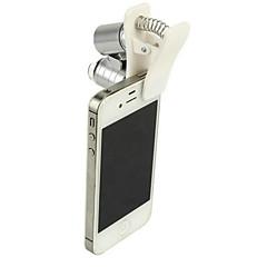 magas minőségű vízálló 60-szor mobiltelefon mikroszkóp és nagyító / ékszer értékelése / ultraibolya fény