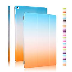 Kvalitní PU kůže duha gradientu pouzdro pro iPad vzduch