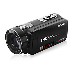 "ordro® hdv-Z80 1080p digitale videocamera / 120x digitale zoom&10x optische zoom / 3 ""touch screen tft"