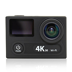 OEM H8R Sports Action Camera 12MP 2048 x 1536 / 3264 x 2448Adjustable / wireless / USB / Dual Screen / Panorama / WiFi / Waterproof / All