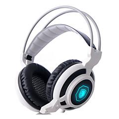 sadesはマイクを耳のヘッドセットステレオゲーミングヘッドフォンで3.5ミリメートルPCゲームをarcmage& 音量調節