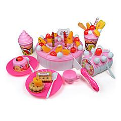 фруктовый торт молоко / шоколад резки / украшения делают вид, игрушки игры набор поделки игрушки (73 шт)