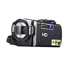 câmera de vídeo digital HDV 614p 3 milhões CMOS pixels 2.7 polegadas 270 ° rotação do ecrã TFT 16x zoom cartão de suporte sd