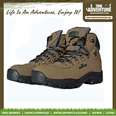 מגפי מדבר ספורט עור נעליים צבאיות חיצוניים טיפוס מגפיים