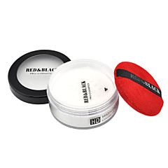 Red&Black High Definition Loose Powder Flawless Coverage Pores Refreshing 20g