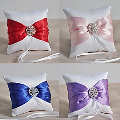 Ring Pillow Satin Asian Theme / Classic Theme / Fairytale Theme / Butterfly ThemeWithRibbons / Bow