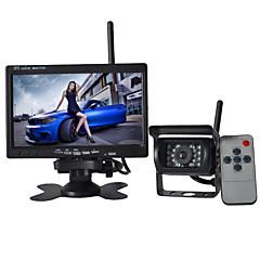 7 inch monitor draadloze 170 ° hd uitzicht bus auto achteruitrijcamera + bus high-definition groothoek waterdicht cmd camera