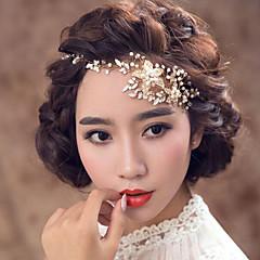 נשים סגסוגת דמוי פנינה כיסוי ראש-חתונה אירוע מיוחד סרטי ראש חלק 1