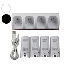 --Nintendo Wii用-電池や充電器-オーディオとビデオ-ミニ