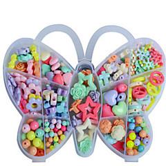 jouets éducatifs les perles de la boîte de papillon les nouveau bricolage créatif cadeau pour enfants