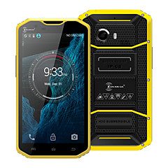 "Kenxinda PROOFINGS W8 5.5 "" Android 5.1 4G Smartphone ( Dual - SIM Octa Core 8 MP 2GB + 16 GB Gelb / Grau )"