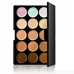 Professional Concealer Palette 15 Color Concealer Facial Face Cream Care Camouflage Makeup base Palettes Fashionable Women Cosmetic Kit Rectangle Box