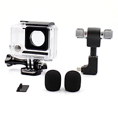 Gopro Accessories Protective Case / Microphone All in One / Convenient / Dust Proof, For-Action Camera,Gopro Hero 3 / Gopro Hero 3+ /