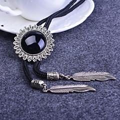 לקשור שרשרת סגסוגת עניבת עניבת חולצת פנינת גברי גבישים מלאכותית