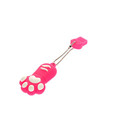 16GB Cute Dog Paw Rubber USB Flash Drive