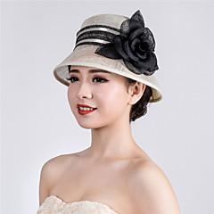 Womens Sinamay Flower Wedding Hat Fascinator Kentucky Derby Hat
