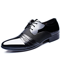 Men's Oxfords Casual/Office & Career/Party & Evening/Wedding Fashion Leather Oxfords Shoes Black/Brown 38-45