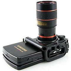 8x 18 mm Monokulár BAK4 Generic / Střešní Prism / Spotting Scope / Noční vidění Çoklu-kaplanmalı Obecné / Pozorování ptáků Běžný Černá