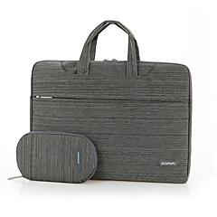 fopati® 12inch / 13inch laptop case / bag / sleeve for lenovo / mac / samsung brun / lys grå / mørk grå