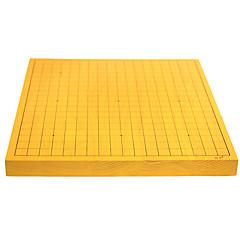 """המלוכה st. 32 מ""""מ עץ דגי חליפת לוח השחמט סינית דו-צדדית דו-שימושית ללכת בחליפת מנה בבת אחת (לא כוללת חלקים"""