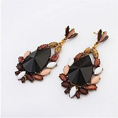 Women's Fashion Earrings Black Resin Earring Sweet Dangle Earring For Women Girls