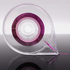 בעל מסמר אמנות 1pc רדיד כלי מדבקת מקרה חותך קו קלטת פיזור רדיד אלומיניום תיבת הקלטת