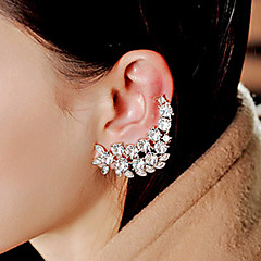 Full Crystal Ear Cuff for Layd Party(1 PC)