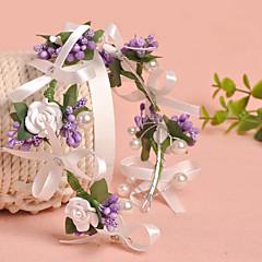 Femme Tulle / Imitation de perle / Tissu Casque-Mariage / Occasion spéciale / Décontracté / Extérieur Couronnes 1 Pièce