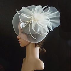 Femme Tulle / Tissu Casque-Mariage / Occasion spéciale Coiffure 1 Pièce