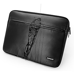 pofoko® 11/13/14/15 polegadas laptop manga impermeável preto / cinza