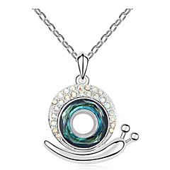 Thousands of colors  Women's Alloy Necklace Daily Crystal-1-711