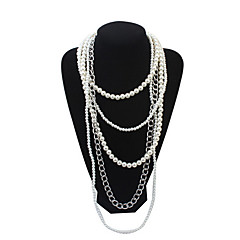 Collana Per donna Anniversario / Matrimonio / Compleanno / Regalo / Festa / Quotidiano / Occasioni speciali / Casual / Formale Perle false