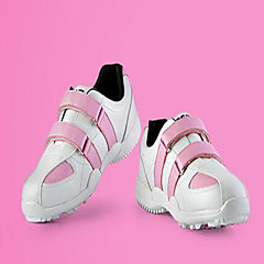 Golf Mädchen Schuhe Gummi Rosa / Weiß