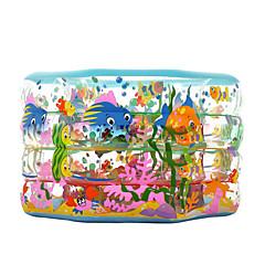 물 놀이기구 야외 장난감 원통형 PVC 브라운 아동용 전체