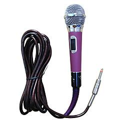Tilkoblet-håndholdt Mikrofon-Karaoke MikrofonWith6.3mm