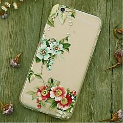 Für Stoßresistent Hülle Rückseitenabdeckung Hülle Blume Weich TPU Apple iPhone 6s Plus/6 Plus / iPhone 6s/6